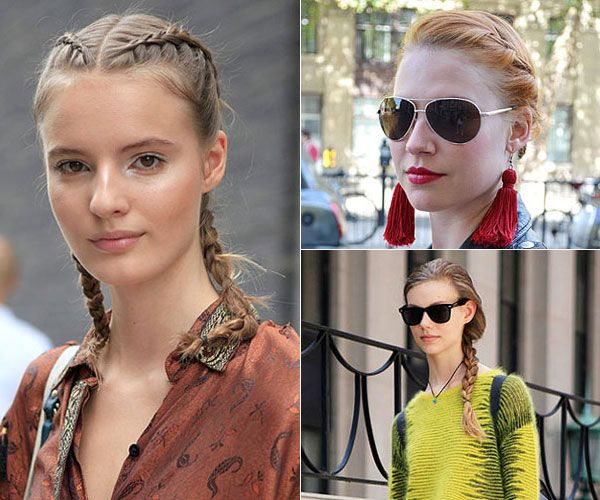 Braids - 10 Spring Street-Style Hair Trends 2013 - FLARE
