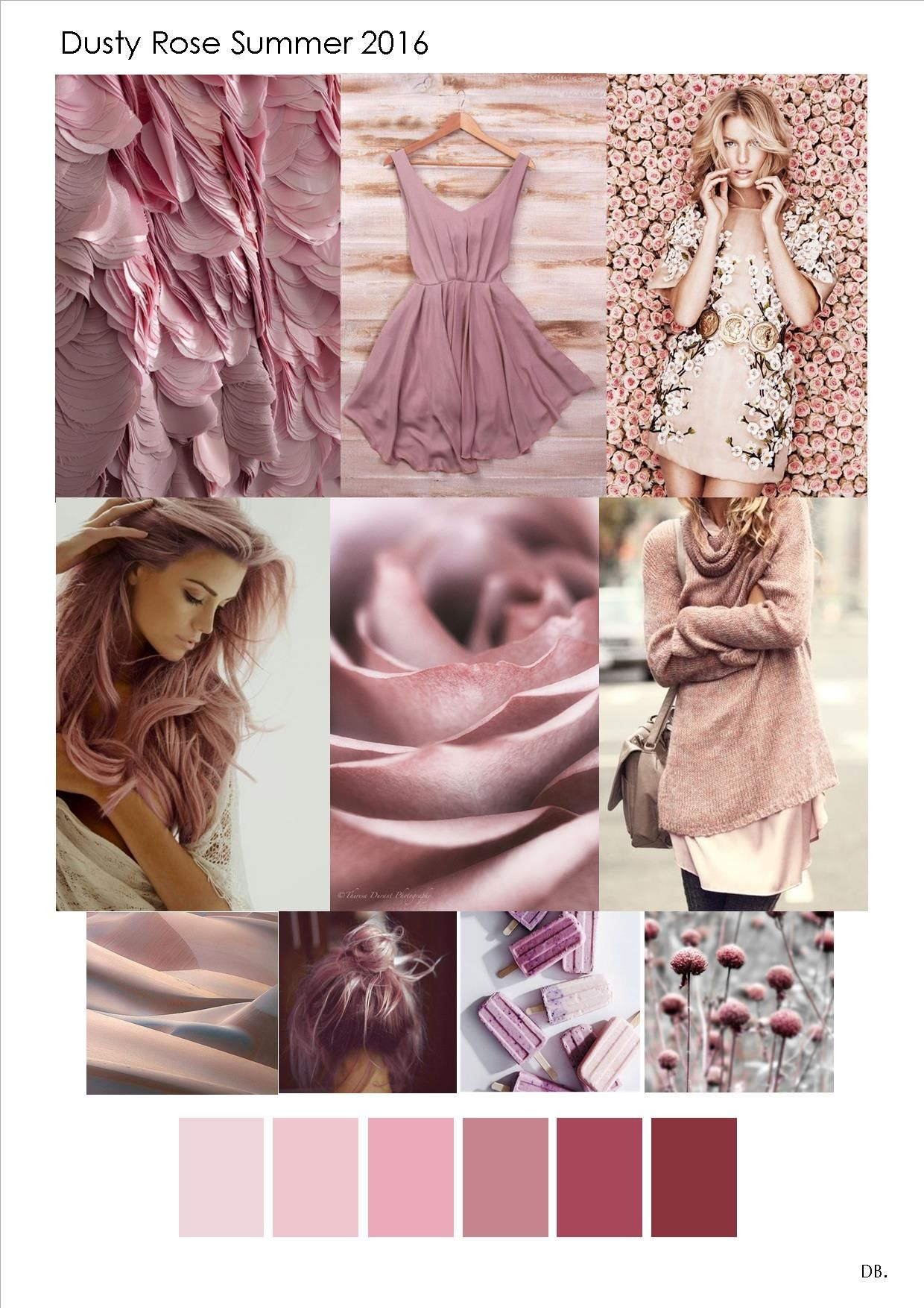 Fashion Trends Ss2016 Dusty Rose Tendencii Cveta Cvetovye Palitry Tendencii