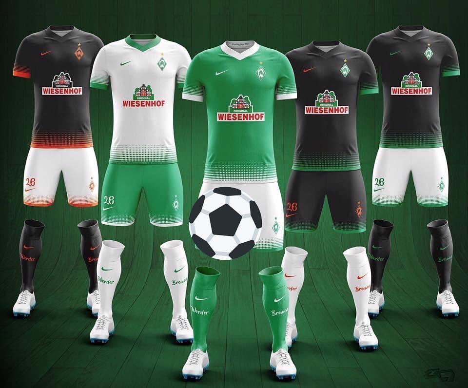 Sind die neuen #Werder Trikots für 2017/2018 schon aus Versehen aufgetaucht oder ist das nur ein Fake im Netz?  Quelle: https://twitter.com/werderraute93/status/814818193181130752