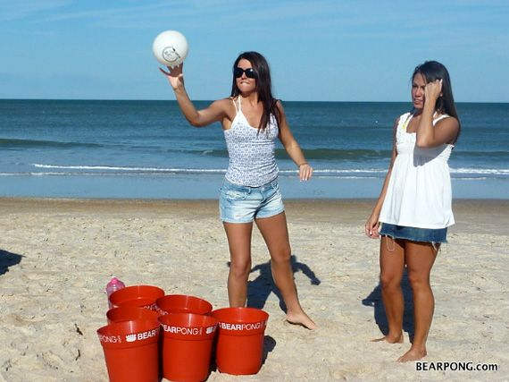 Beach Beer Pong Saw People Doing This In Va One Year Loved It