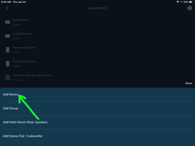 Alexa Echo Dot Wifi Setup Instructions Tom S Tek Stop Alexa