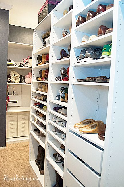 Check Out The Latest Progress On Our DIY Semi Custom Closets Using IKEA PAX  Wardrobes