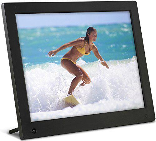 NIX 15 inch Hi-Res Digital Photo Frame with Motion Sensor & 4GB ...