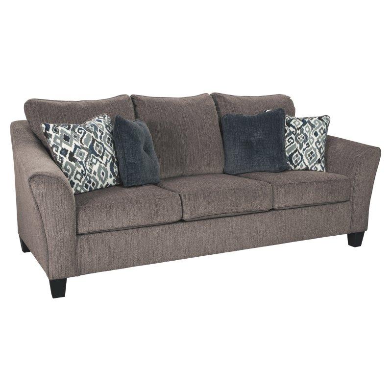 Super Signature Design By Ashley Nemoli Queen Sofa Sleeper In 2019 Creativecarmelina Interior Chair Design Creativecarmelinacom