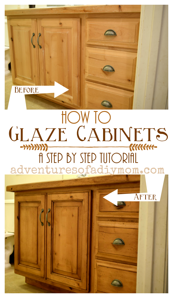 how to glaze cabinets with gel stain painting techniques diy rh pinterest com
