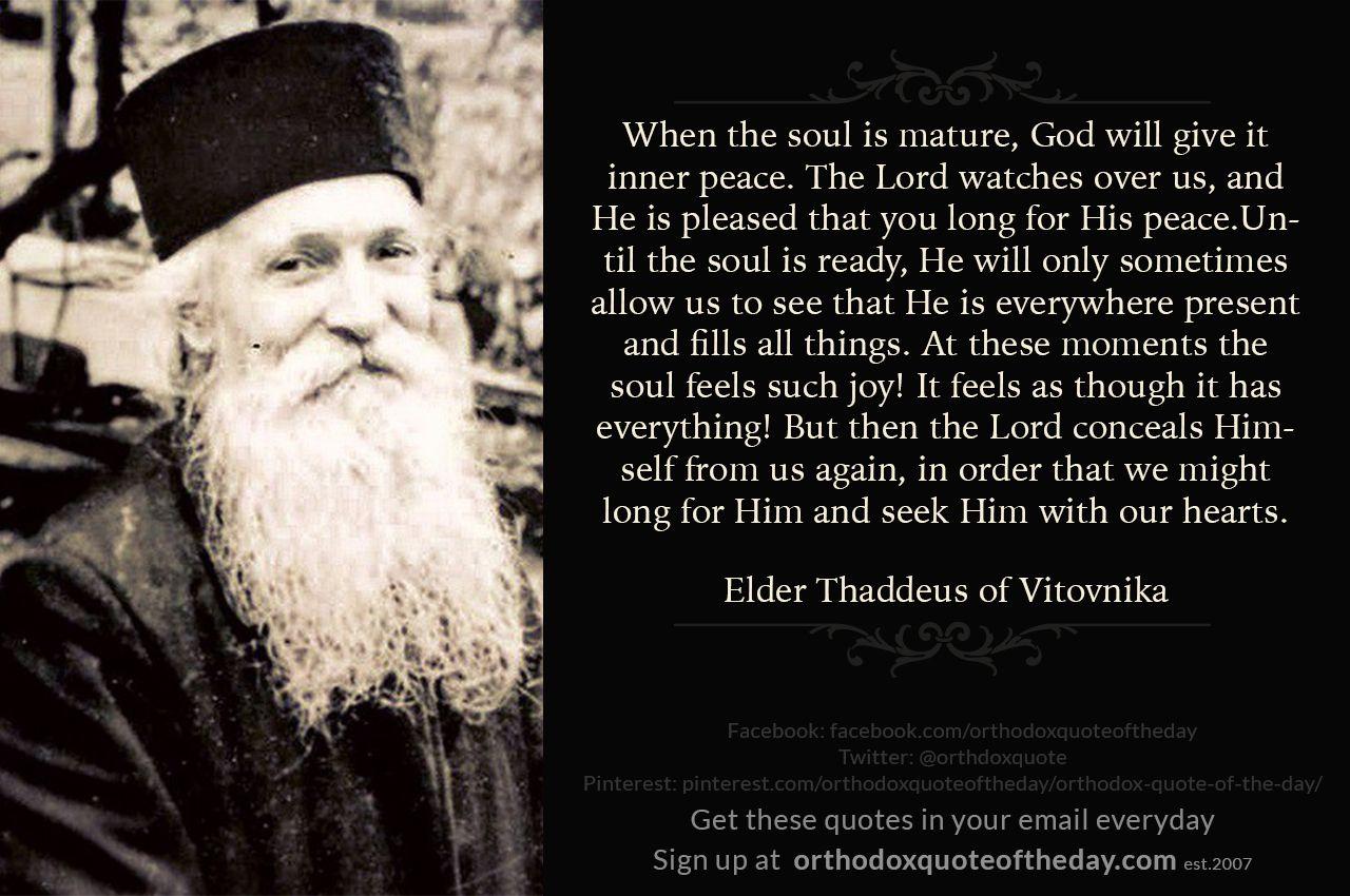 Elder Thaddeus of Vitovnika | Orthodox christianity, Orthodoxy, Eastern  orthodox