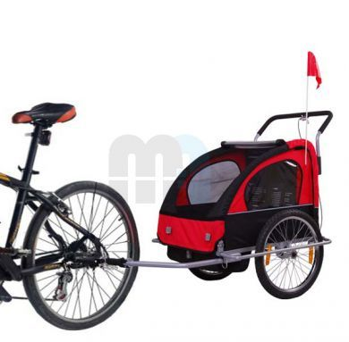 Carro para bici  _____________________________  Shopping for bike