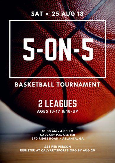 basketball tournament program template.html