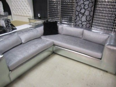 3750 Silver Croc L Sofa Modern Sectional Sofa Provides Modern Sofa Sectional Sofa Settee Sofa