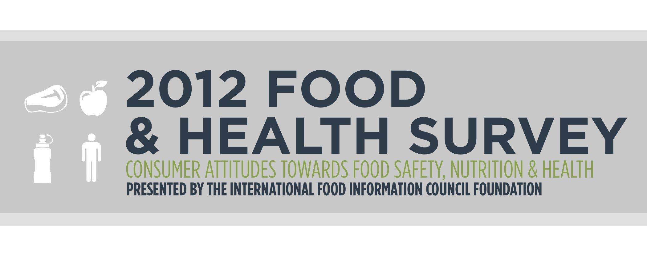 2012 Food & Health Survey: Consumer Attitudes toward Food Safety, Nutrition and Health