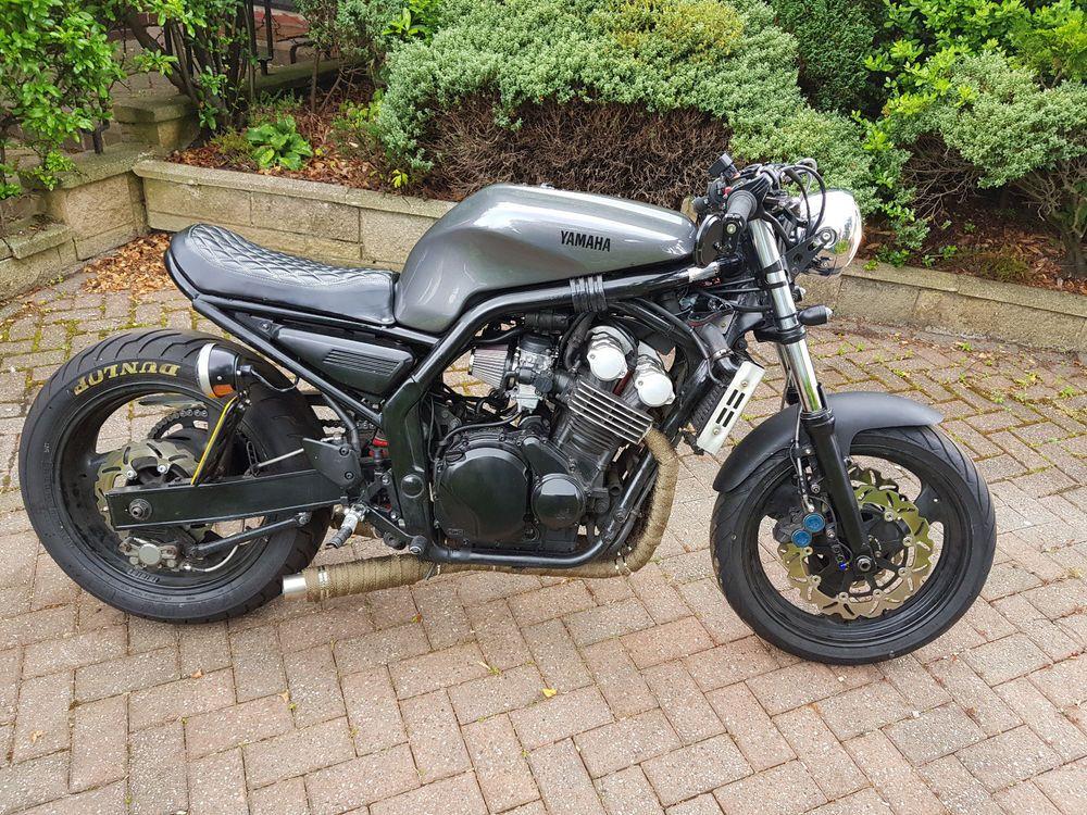 Yamaha Fzs600 Brat Style Cafe Racer | Fazer | Cafe racer