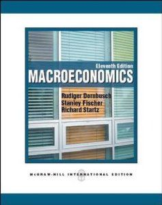 Macroeconomics by Rudiger Dornbusch. $51.97. Publication: March 1, 2011. Publisher: McGraw-Hill Europe; 11th Revised edition edition (March 1, 2011)