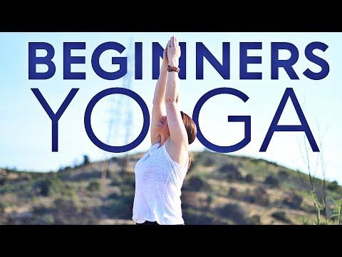 this beginners yoga class  easy yoga poses for