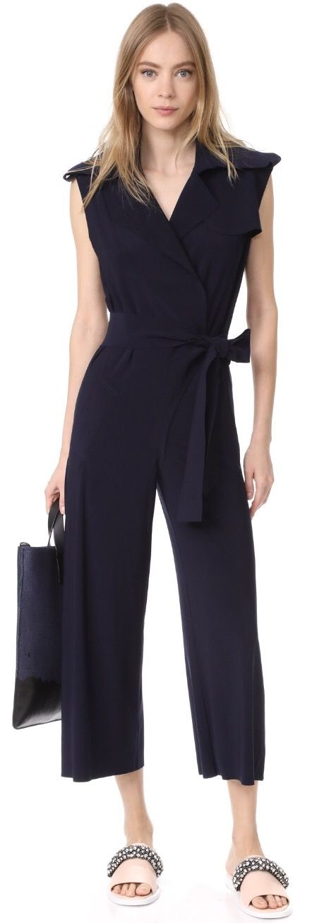 Business Casual Jumpsuit Business Casual Style Outfits