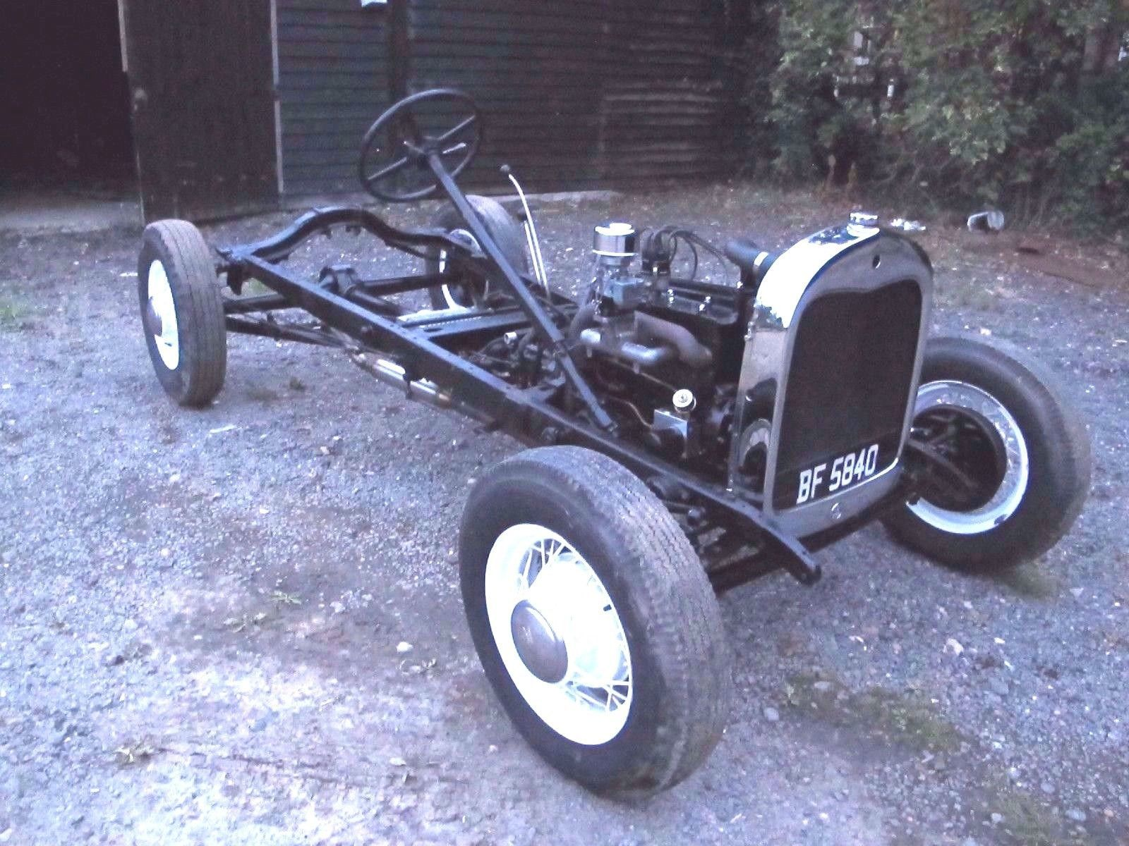 eBay: 1929 Model A Ford complete rolling chassis VSCC / VHRA ...