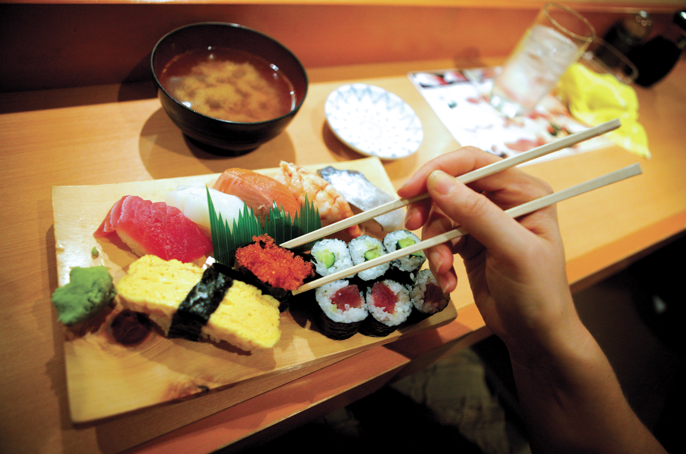 #Delicious #Japanese #sushi and #sashimi  Photo by Sally Johnson  #IntrepidEats #FoodieAdventure #Travel #HeartTravel #Food