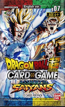 Dragon Ball Super Card Game Series 7 Dbs B07 Assault Of The Saiyans Booster Box Release Date 02 08 2019 Dragon Ball Super Card Games Dragon Ball