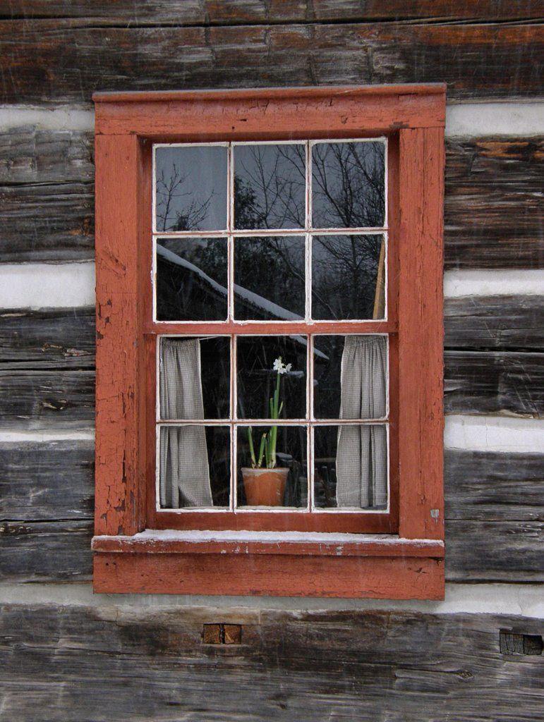 windows for log cabins