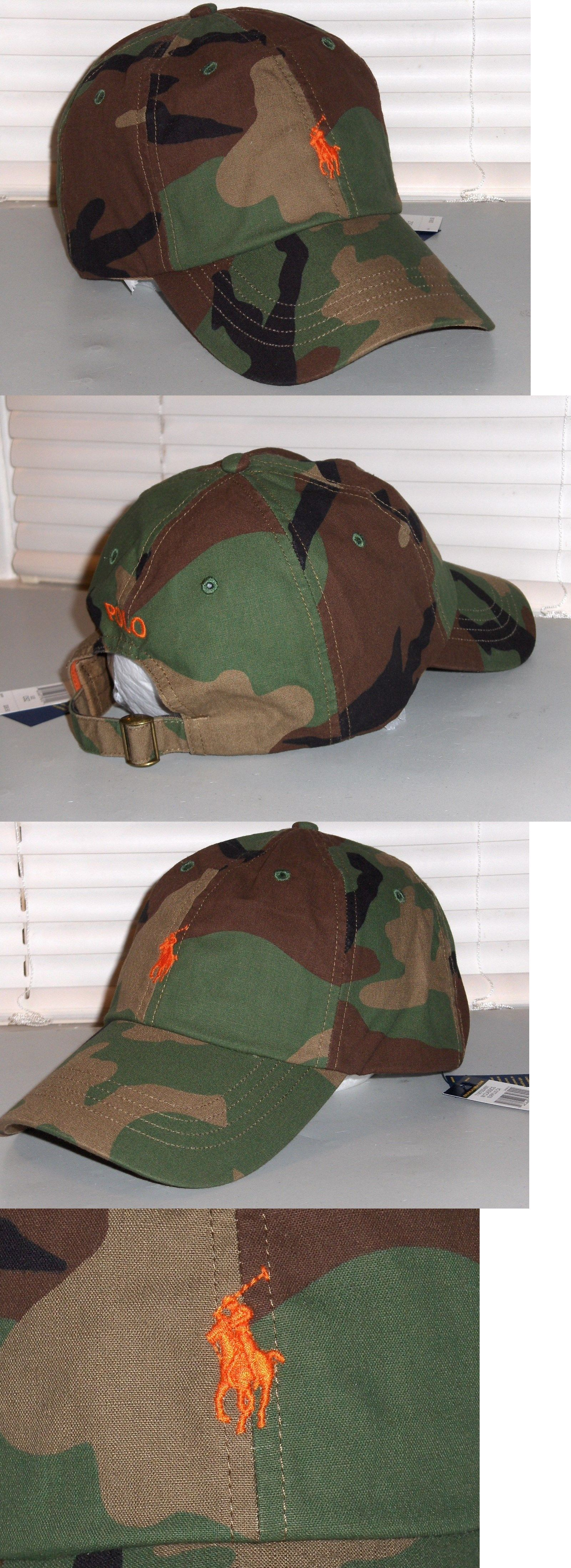 Hats 52365  Polo Ralph Lauren Men S Camo Cotton Hat f6abb6a8512