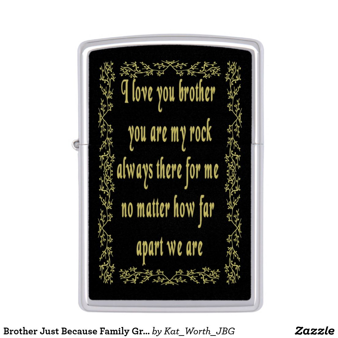 Brother Just Because Family Greeting And Gifts By Kat Worth Bro