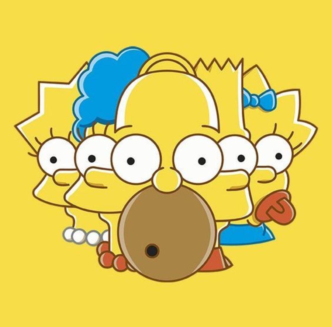 Pin De Carmen Herrera Em The Simpsons