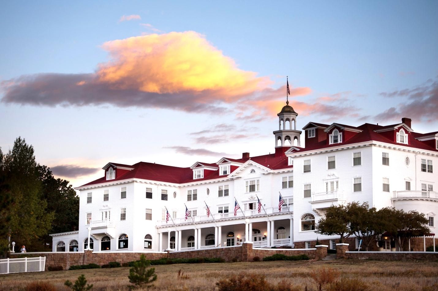 Stanley Hotel In Estes Gilded Age. Haunted