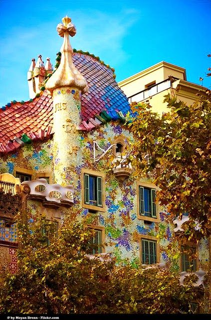 Casa Batllo Barcelona Spain Espanha Madri Barcelona Barcelona Cidade