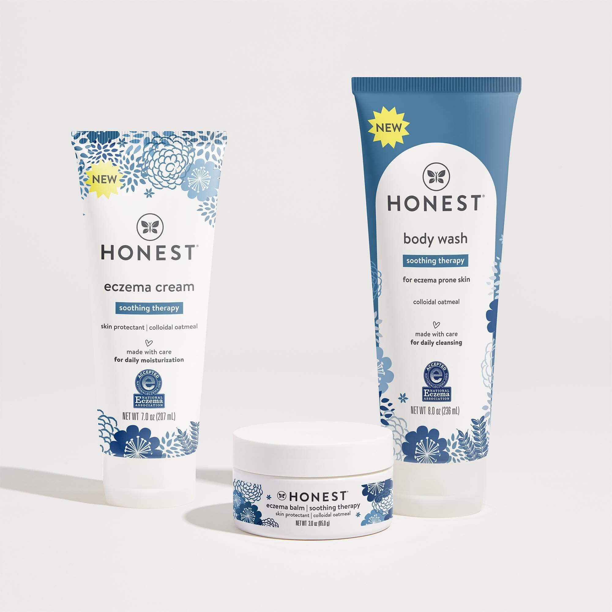 The Eczema Collection Eczema Kit Honest In 2020 Eczema Skin Care Treatments Baby Skin Care