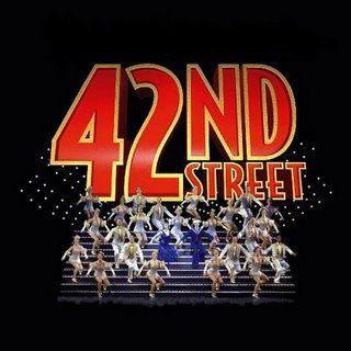 Image result for 42nd street musical logo