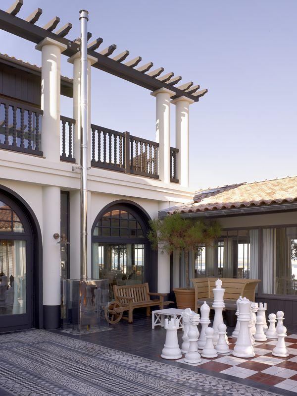 hotel la corniche bassin d 39 arcachon france french architecture design pinterest. Black Bedroom Furniture Sets. Home Design Ideas