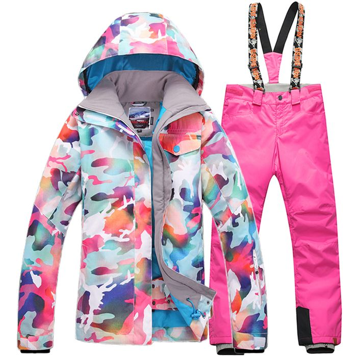 Find More Skiing Jackets Information about Gsou Snow Women