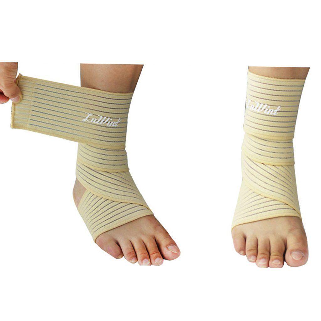Luwint breathable elastic bandage ankle brace wristbands