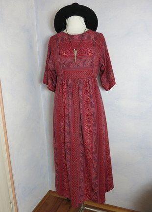 Kleid 38 40 rot