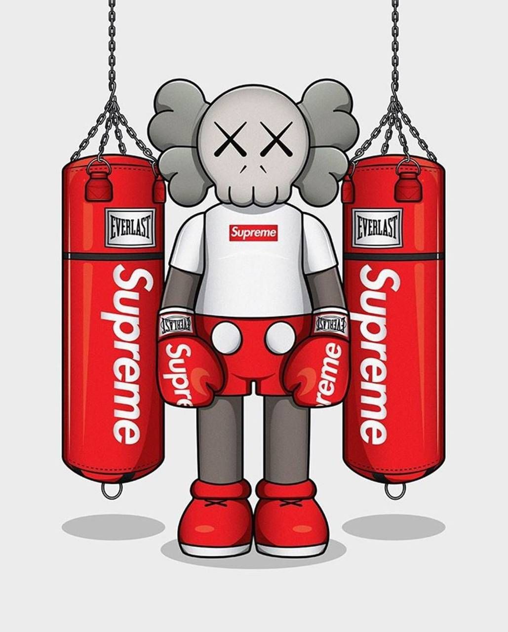 Kaws X Supreme Wallpaper By Mysterysoul Ab Free On Zedge Supreme Wallpaper Supreme Iphone Wallpaper Supreme Wallpaper Hd