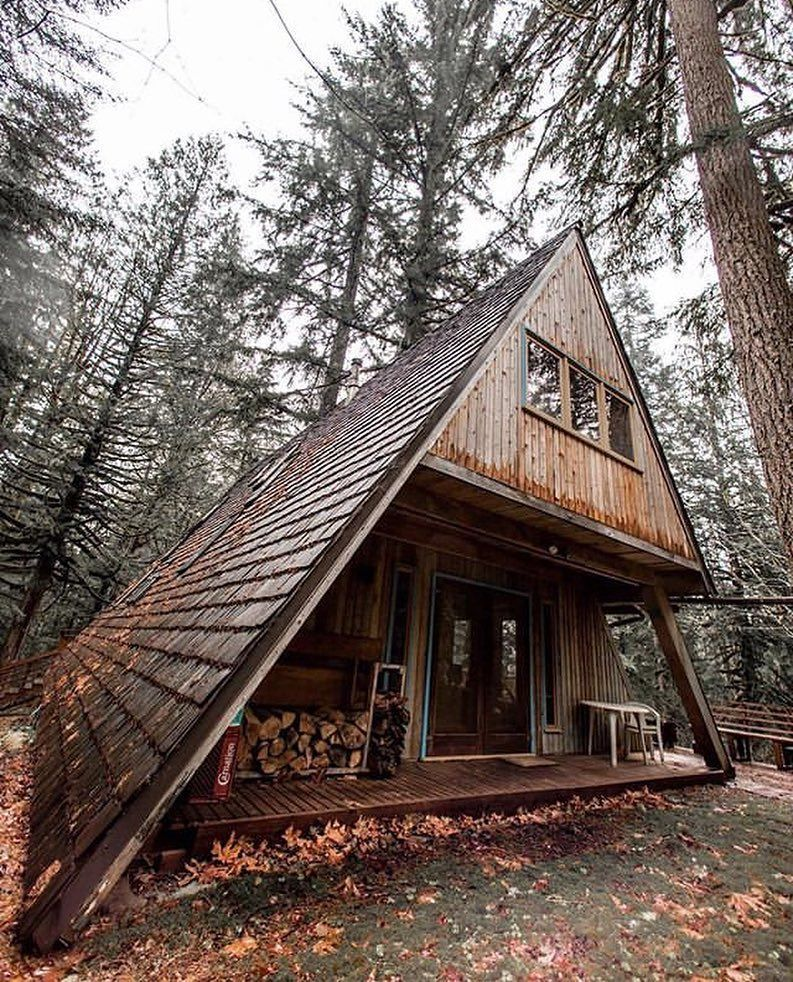 Minimalist And Modern A Frame Houses Design Ideas Gowritter A Frame House House In The Woods A Frame Cabin