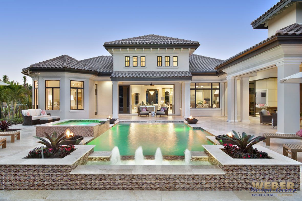 Mezzano House Plan in 2020 Luxury mediterranean homes