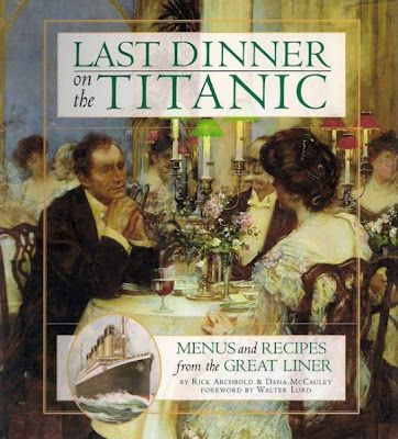 *Recipes served on board~~click on for more interesting facts about the Titanic......