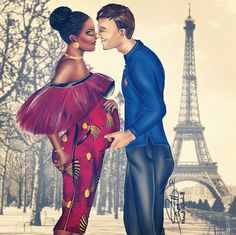 Love has no colour love is beautiful