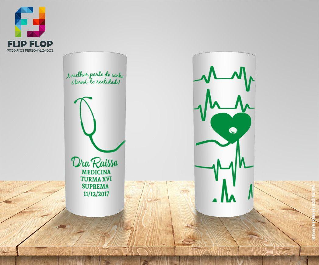 Well-known Copo personalizado formatura de medicina | Copos personalizados  DU36