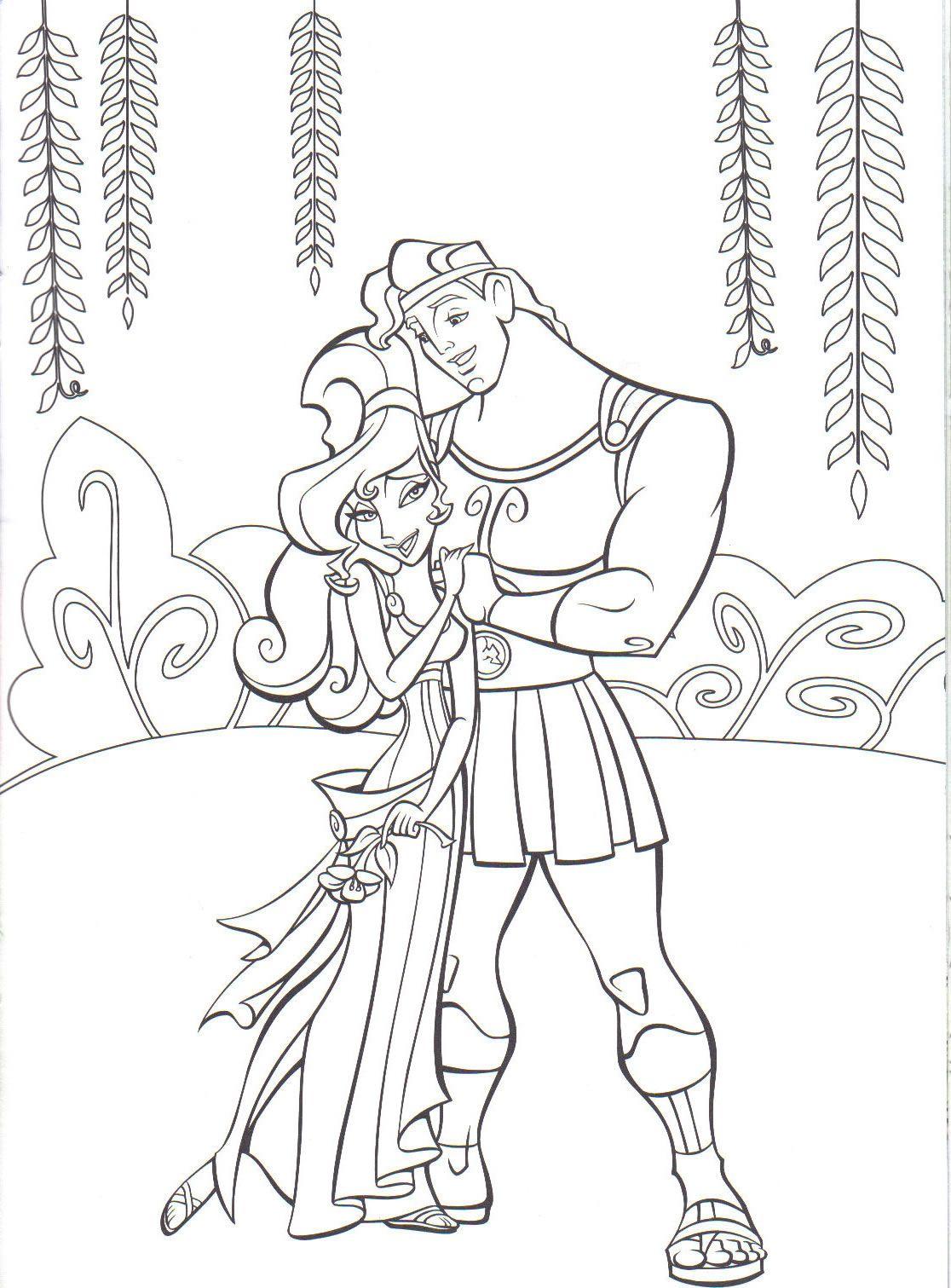 Dessin de Disney à colorier  Disney coloring pages, Disney