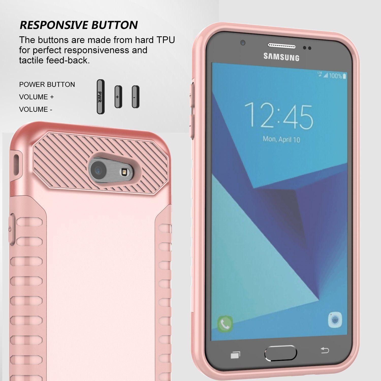 low priced 84535 e40e9 Amazon.com: Galaxy J7 V Case, Galaxy J7 Perx Case, Galaxy J7 Sky Pro ...