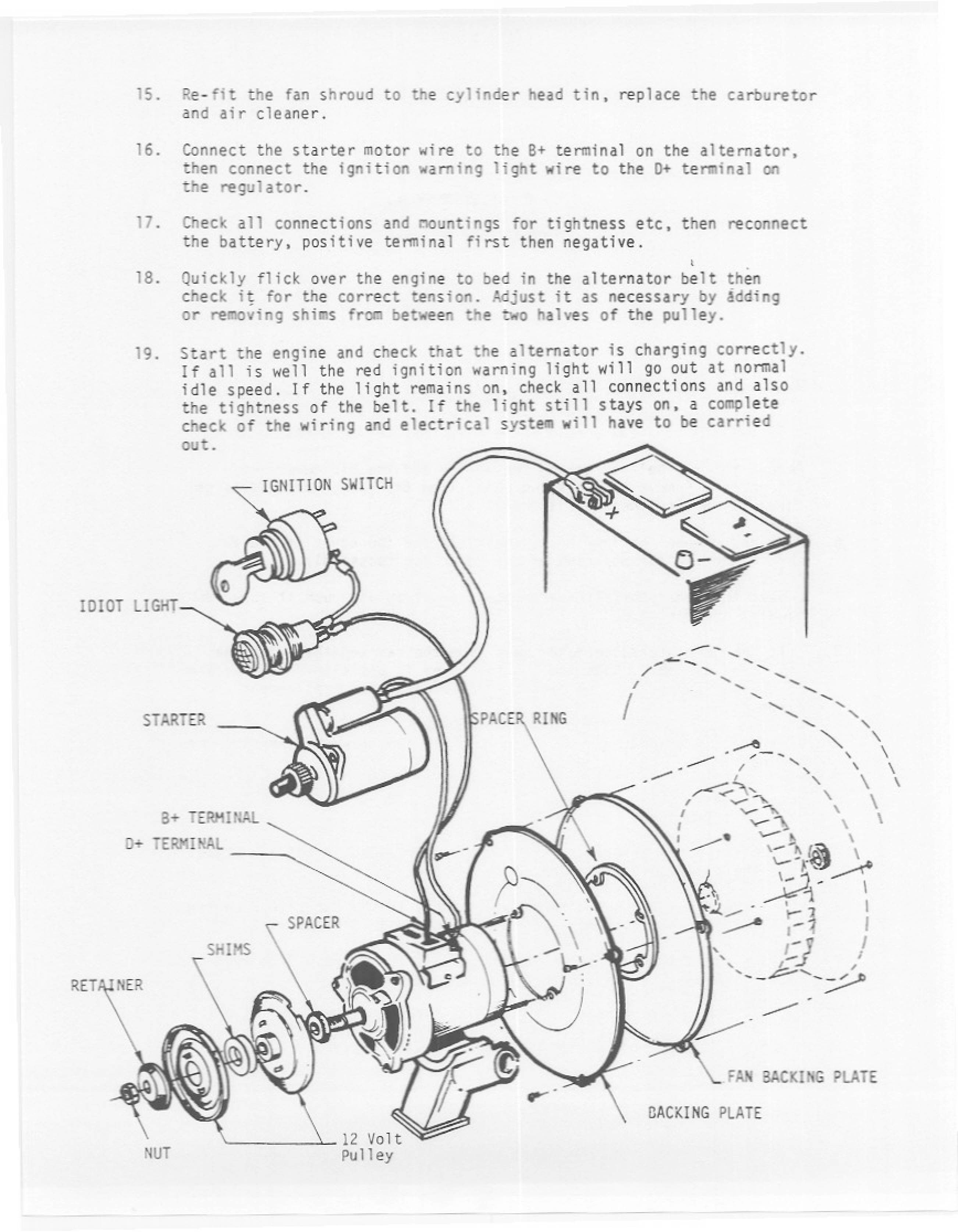 Inspirational Brush Alternator Wiring Diagram Diagrams Digramssample Diagramimages Wiringdiagramsample Alternator Warning Lights Electrical Wiring Diagram