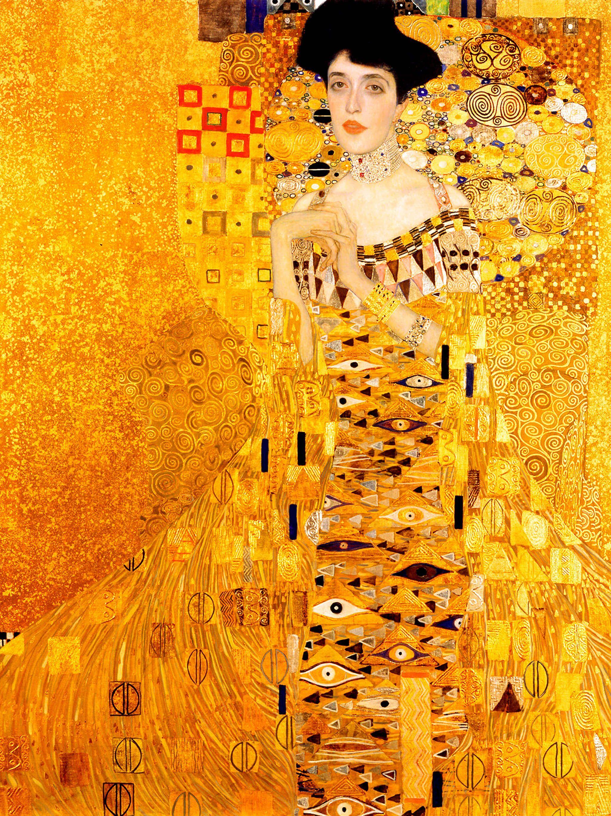 グスタフ クリムト Gustav Klimt Portrait Of Adele Bloch Bauer I 2048x Https Me Pin Autos Com E3 82 B0 E3 82 B9 E3 82 Bf In 2020 Klimt Jugendstil Kunst Pastell Malerei