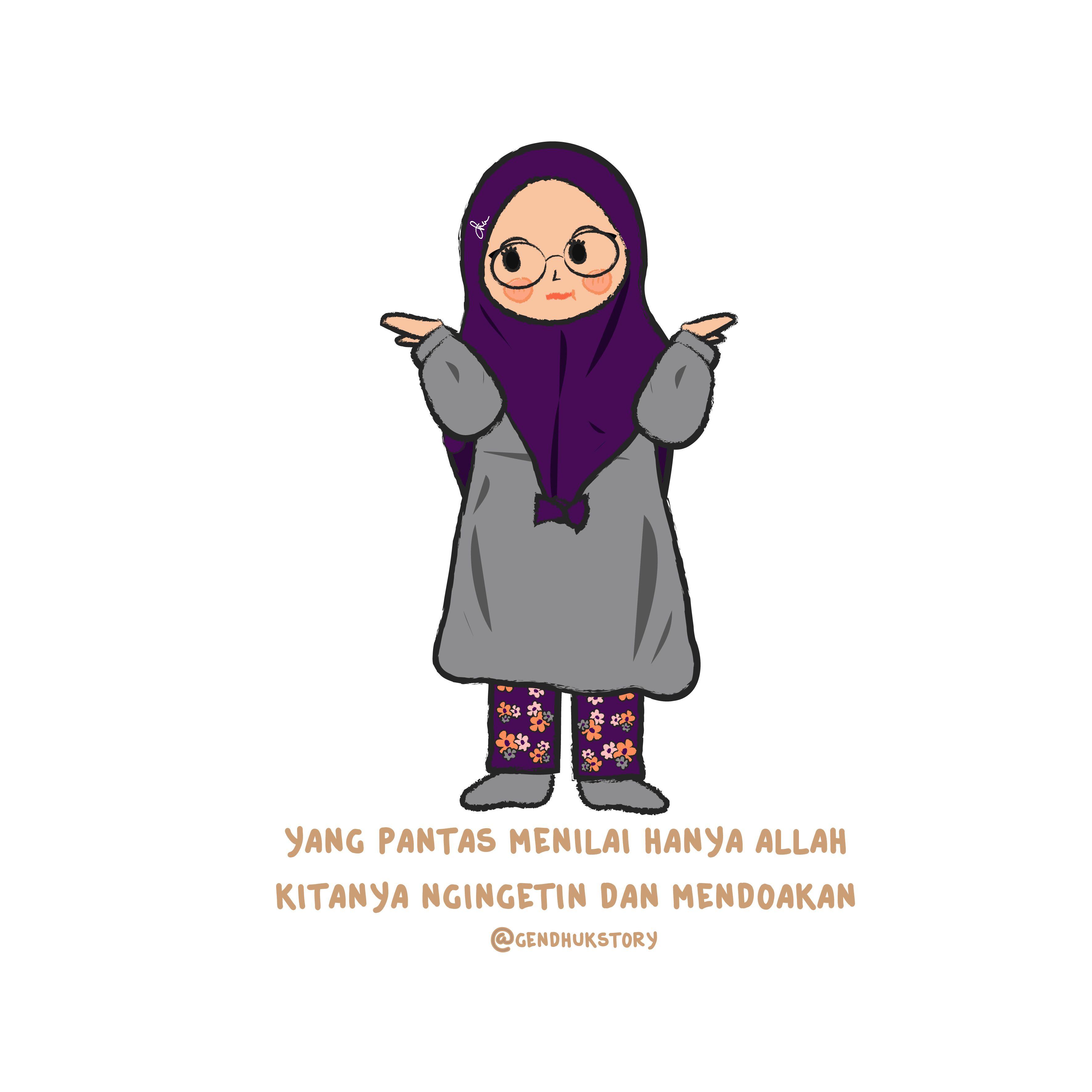 Animasi Pelajar Muslimah Terbaru Galeri Kartun
