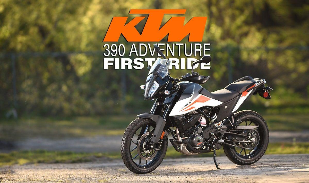 KTM 390 ADVENTURE FIRST RIDE Dirt Bike Magazine in 2020