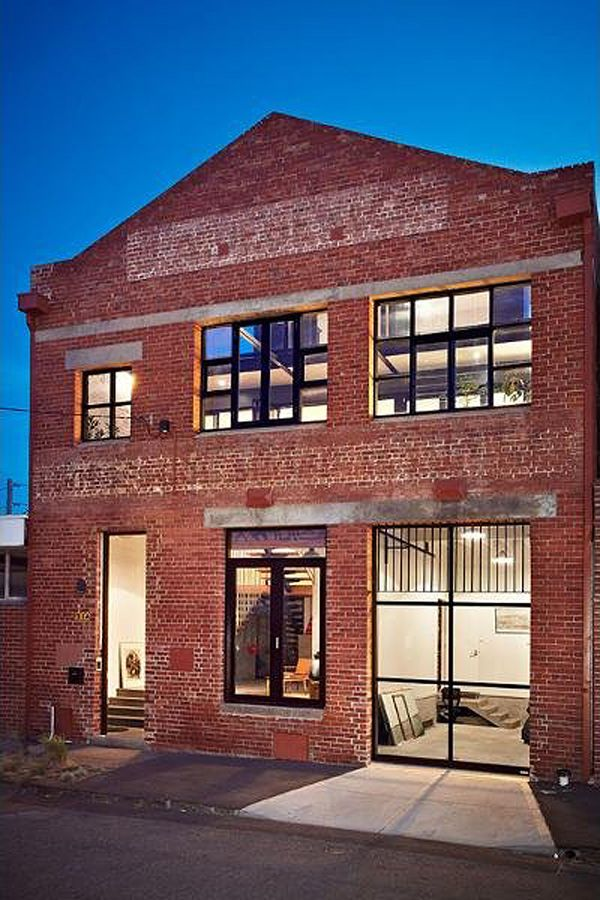 Unique new york style warehouse conversion warehouse bricks and industrial - Commercial exterior painting style ...