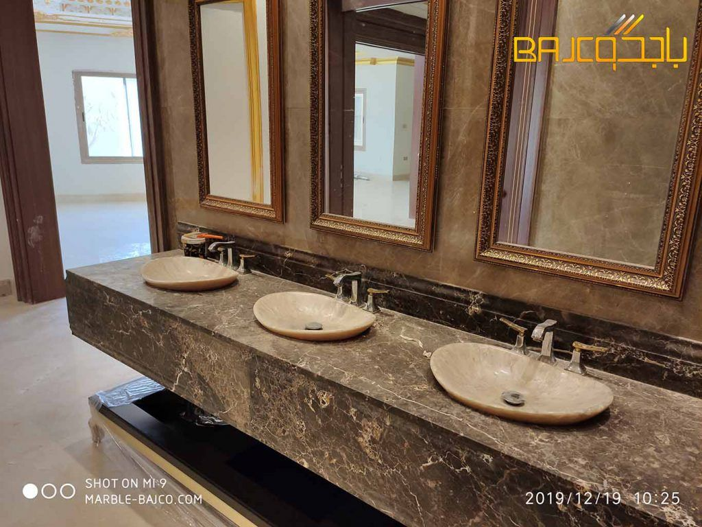 مغاسل رخام تفصيل بالرياض 2020 Framed Bathroom Mirror Bathroom Mirror Mirror