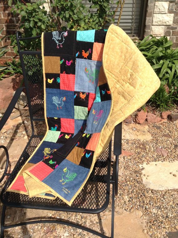 The Fancy Rooster Jean Quilt