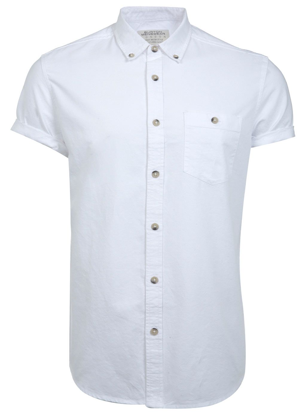 abcaa5e5cdf You can t beat a classic white short sleeve shirt for date night ...