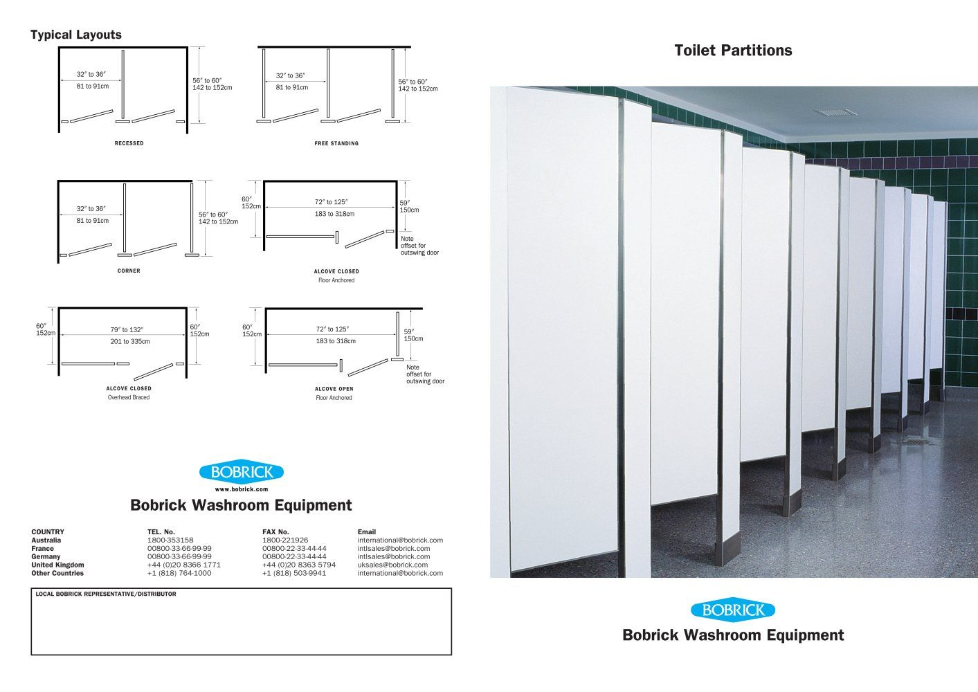 Bathroom Partitions Nz bathroom stalls, phenolic featured. mounting configurations show